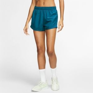 🆕 NIKE Dry Tempo Running Athletic Shorts With Built-in Briefs Gym Shorts